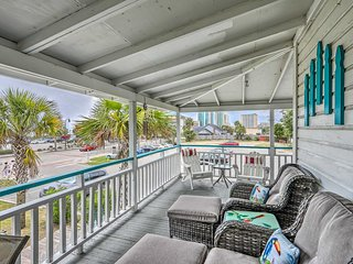 NEW! Downtown Myrtle Beach Cottage by 2nd Ave Pier