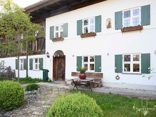 Haupteingang Gut Stohrerhof am Ammersee