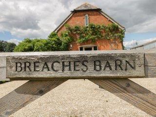 BREACHES BARN, Working Farm, WiFi, Pet Friendly ref. 965776
