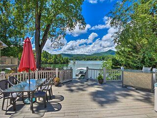 Waterfront Hiawassee Home w/ Dock & Hot Tub!
