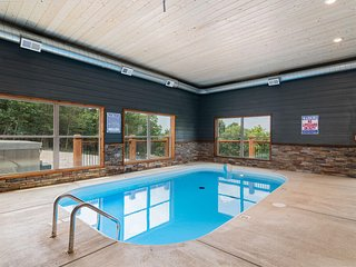 Staycation Lodge with Indoor Pool and Basketball Court
