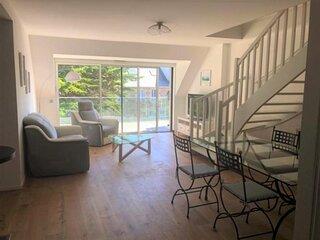 Bel appartement-duplex, equipements et literie neufs au centre ville de