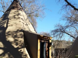 Red Cloud #4- Tipis on the Guadalupe