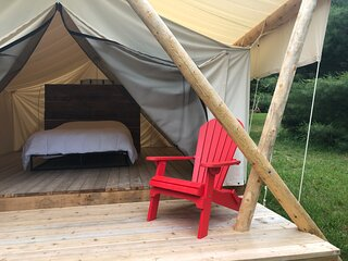 Secluded Sanctuary Glamping at Homegrown Hideaway