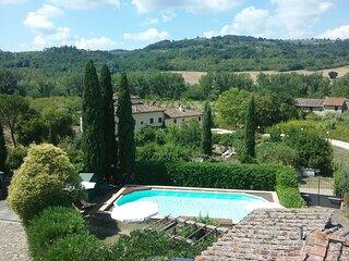 Casale LA FORNACE nel Chianti a 15 km da Firenze, 'La Villetta'