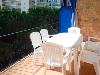 Apartment for rent Platja d'Aro Mardor19 2nd sea line with parking