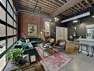 The 1865   Unique Luxury Condo with Heated Pool Patio   Near Downtown
