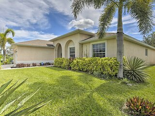 NEW! Single-Story Cape Coral Home: Golf & Grill!