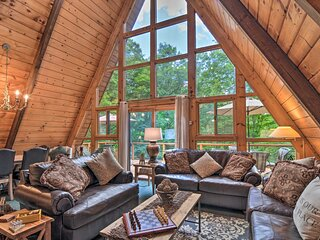 Secluded Gaylord Chalet w/ Hot Tub - Near Golf!