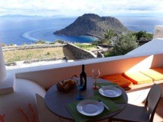 Il panorama, la narura, il mare,ab 909, casa vacanza a Filicudi