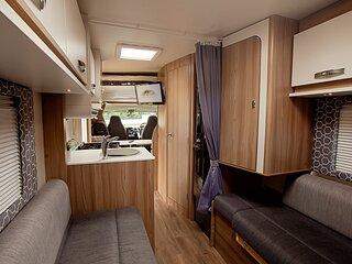 Luxury Motorhome Based in Glasgow