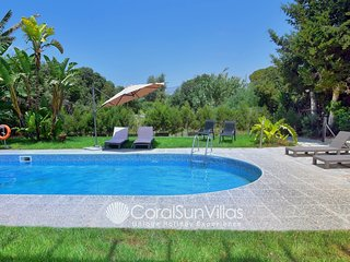 Large Villa in the Heart of Coral Bay, Only 100m to the Beach Paphos - sleeps 15