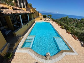 TAORMINA VILLA MATIS Private Sea View Pool Terrace Garden