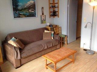 Studio cabine 5/6 personnes avec parking couvert, residence Mongie Hebdo
