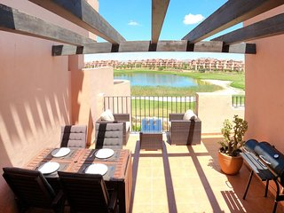 Mar Menor Golf Resort - stunning apartment - large balcony terrace - Free WiFi