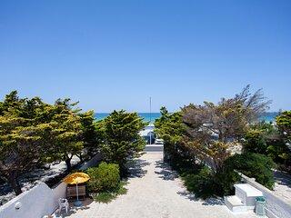Villa fronte spiaggia con 3 camere e 2 bagni m730
