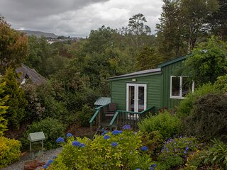Skye Garden Accommodation, Portree, a charming and cosy cottage with sea views!