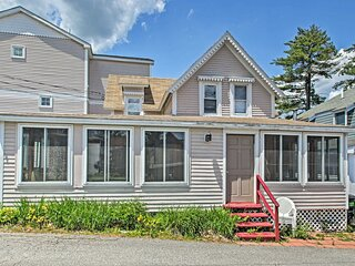 NEW! Bayside Weirs Beach Cottage, Steps to Pier!
