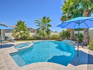 NEW! Azure Home Getaway w/ Outdoor Oasis + Spa!