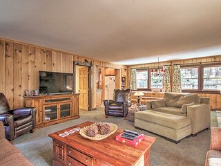 NEW! Lake Tahoe Cabin w/Hot Tub, Yard & Fireplace!