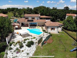 Arton Villa with the heated pool, Istria, Croatia