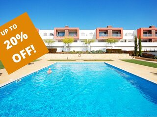 UP TO 20% OFF! VITISMAR AF Ground floor,quality complex,3 pools,garden,AC,WiFi
