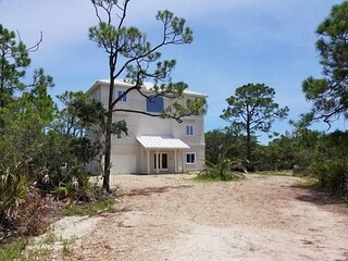 Ocean View House in Gated St. George Island Plantation
