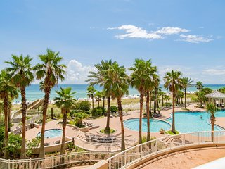 Gulf front Condo at the Indigo Resort with 6000 square foot pool