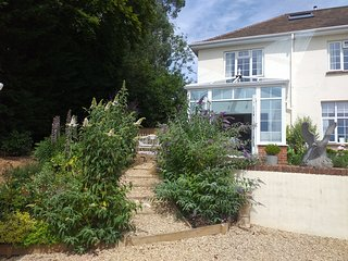 Holiday Cottage Sidmouth in an Area of outstanding natural beauty.