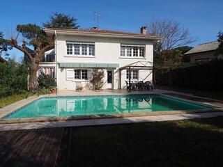 Maison avec piscine à La Hume pour 6 personnes