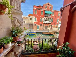 CA' CAMMELLO - Exclusive Terrace and Canal View