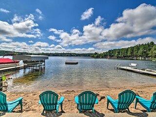 Lakefront Wild Rose Condo w/Pier & Pontoon Boat!