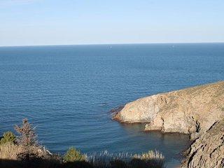 Appt F2 avec terrasse, vue magnifique sur la mer.