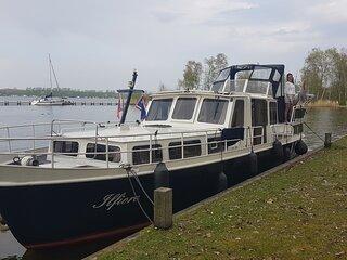 Motorboat near Amsterdam