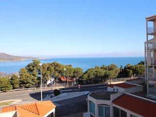 Appartement type F2 avec terrasse avec vue sur mer