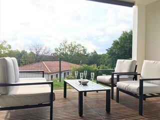 VILLA MARQUESA : Bel appartement avec terrasse et parking - Plages à 15min