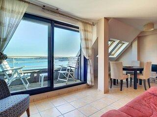 Appartement Vue Mer a Camaret-sur-Mer (a 800m de la plage)