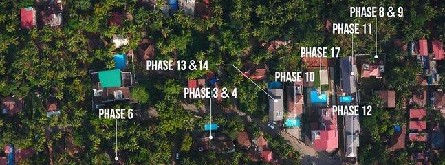 Villa Calangute Phases' location