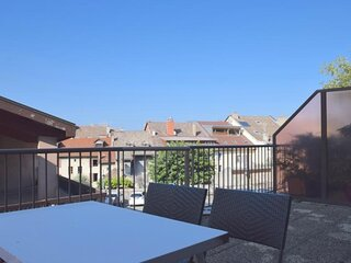 Spacieux appartement avec terrasse 2 pieces en plein coeur d'Evian