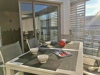 Royan grande plage Appartement contemporain avec terrasse idéalement situé