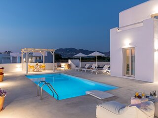 Naxian Lounge Villas | Villa I with private pool