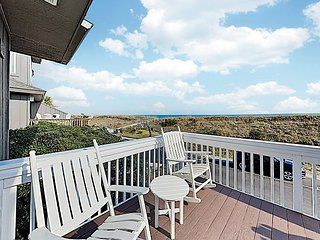 Oceanfront Getaway w/ Dazzling Views - Steps to Sand, Near Dining & Shopping!