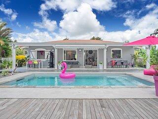 Soupcon de paradis, villa standing piscine prive, 4 a 6 pers