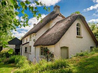 Weeke Brook - Quintessential thatched luxury Devon cottage