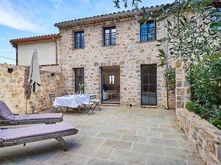 Luxueuse charmante maison ancienne avec terrasse
