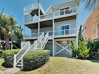 Canal Dream Home with Private Dock, Crow's Nest & Gourmet Kitchen