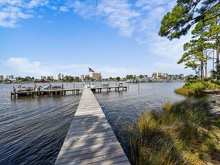PET FRIENDLY ~ Lagoon front condo now sanitized and rent-ready today!!