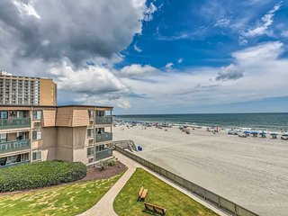 Oceanfront Myrtle Beach Condo ~ 9 Mi to Boardwalk!