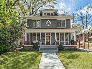 Luxury Midtown Atlanta Home, Walk to Piedmont Park