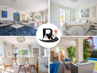 ✔ Majestic 5 Bedroom Villa With ROOFTOP TERRACE, Nueva Andalucia